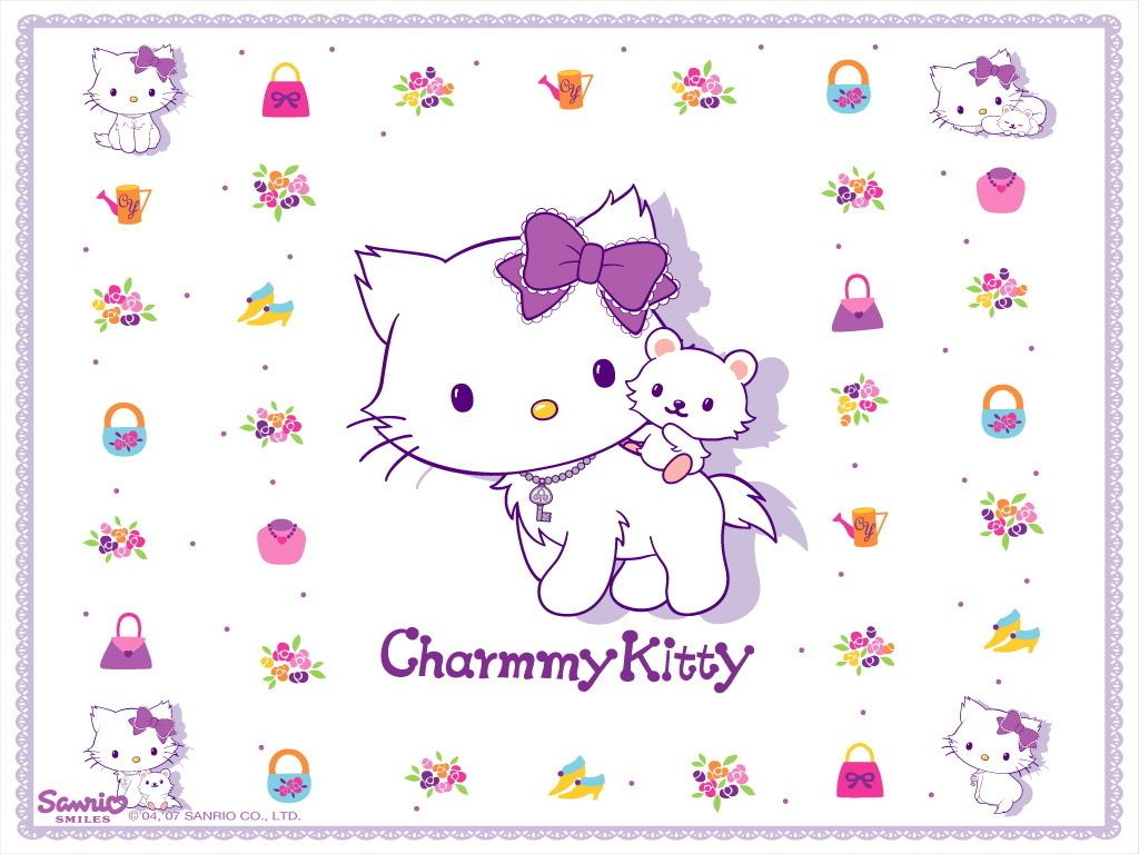 Charmmy Wallpaper D Charmmy Kitty Wallpaper キティ 中日