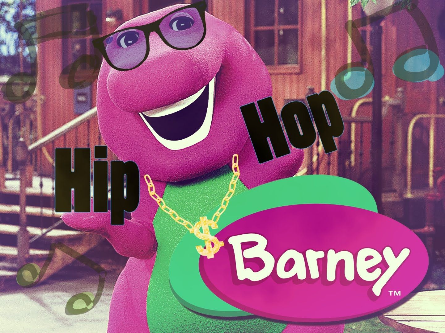 """BARNEY THEME"" [ChildHood HYPE Remix!] Remix Maniacs"