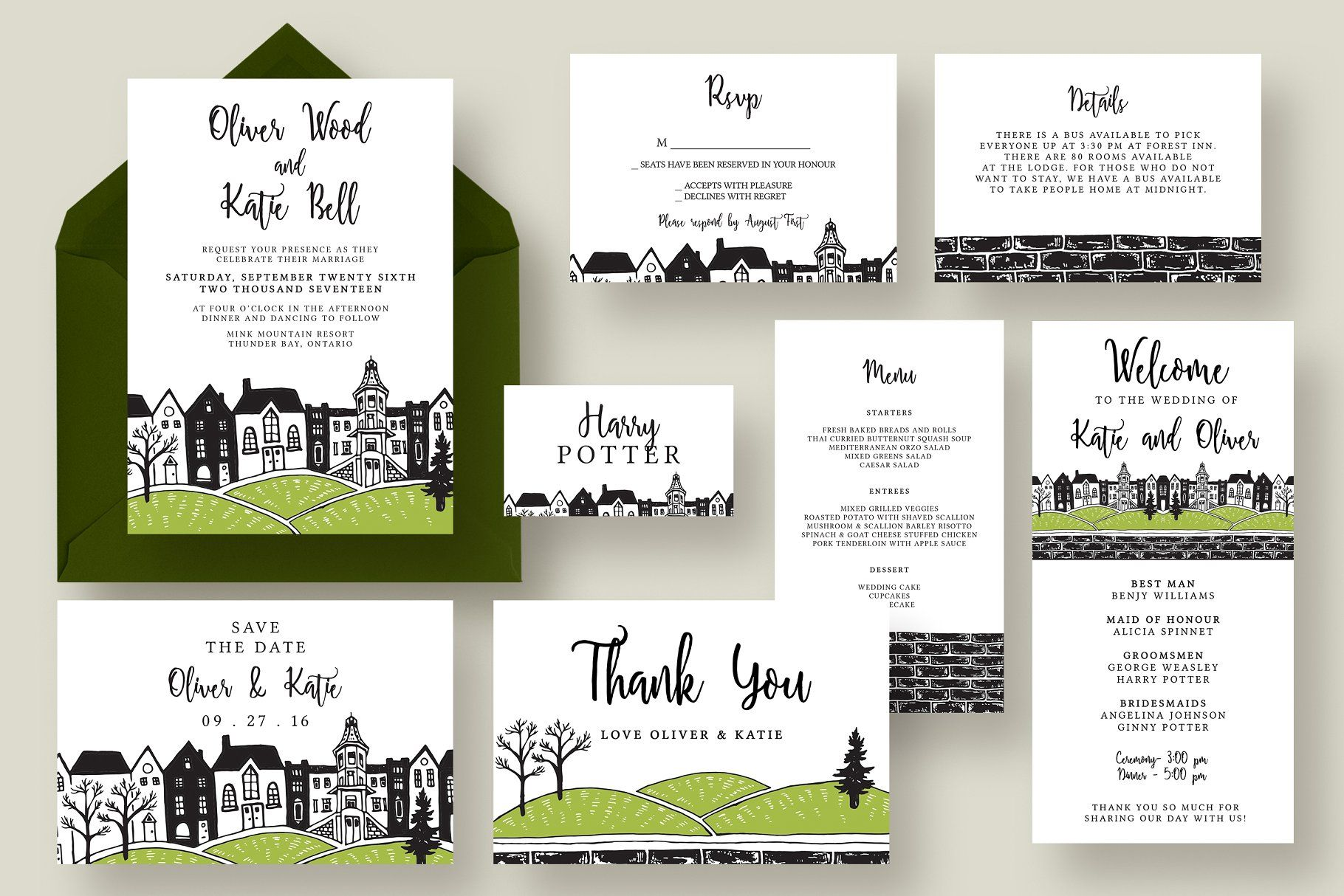town wedding invitation suite wedding town invitation templates