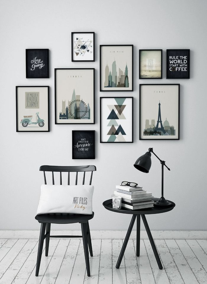 Small Black Sayings Black And White Artwork Pinterest Home