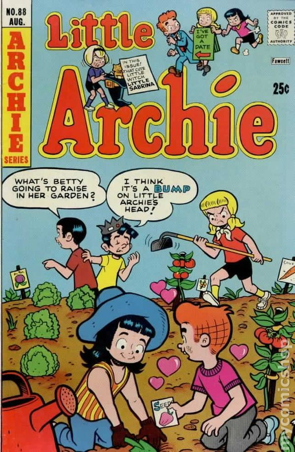 Little Archie 88, Archie Comic Publications, Inc. https://www.pinterest.com/citygirlpideas/archie/