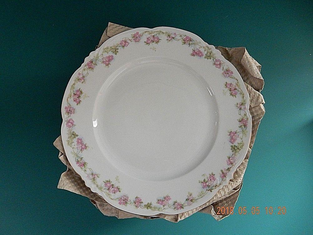 Habsburg Austria China Mz Rose Garland Dessert Luncheon Plate 875