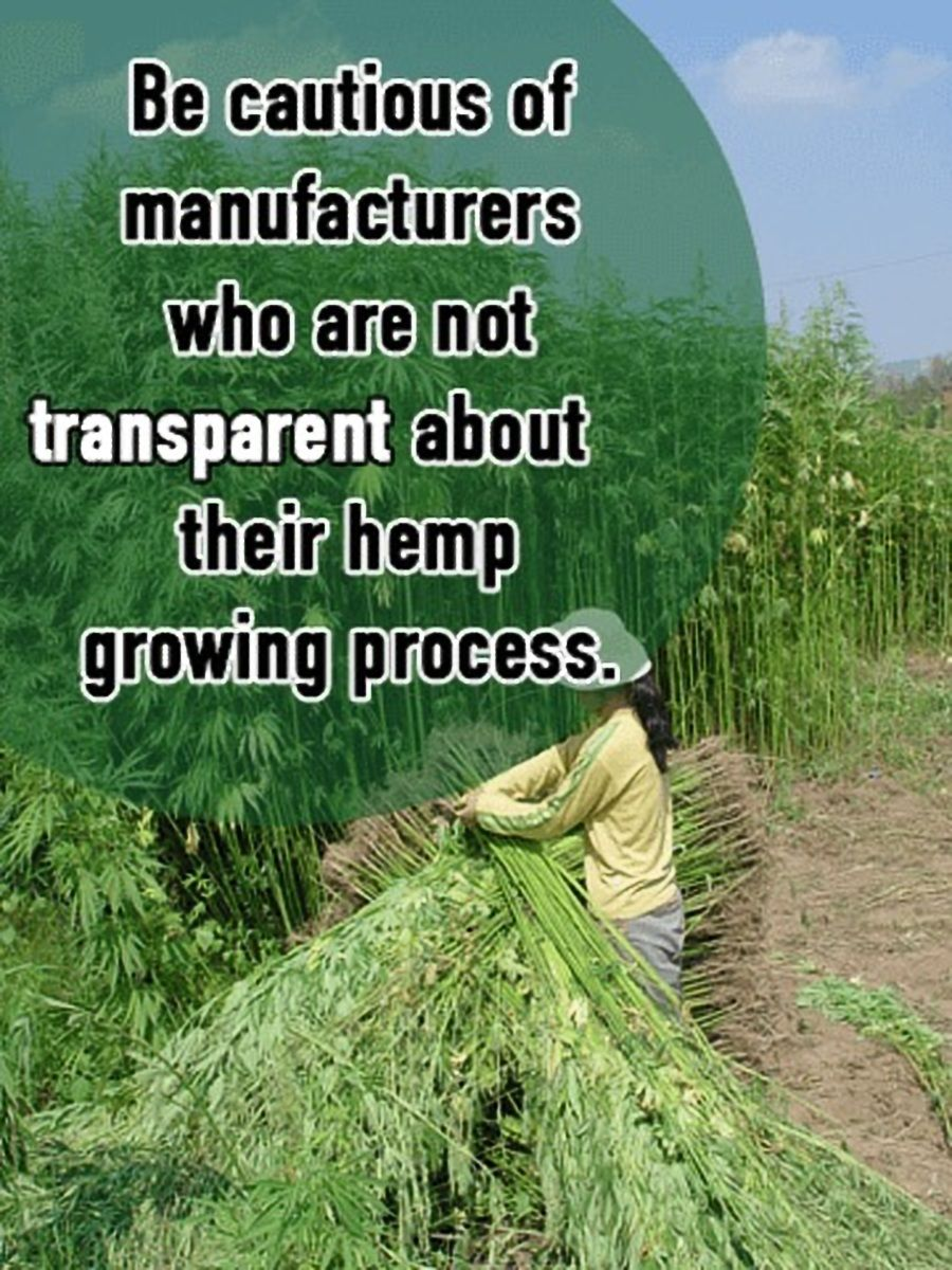Be cautious of manufacturers who are not transparent about