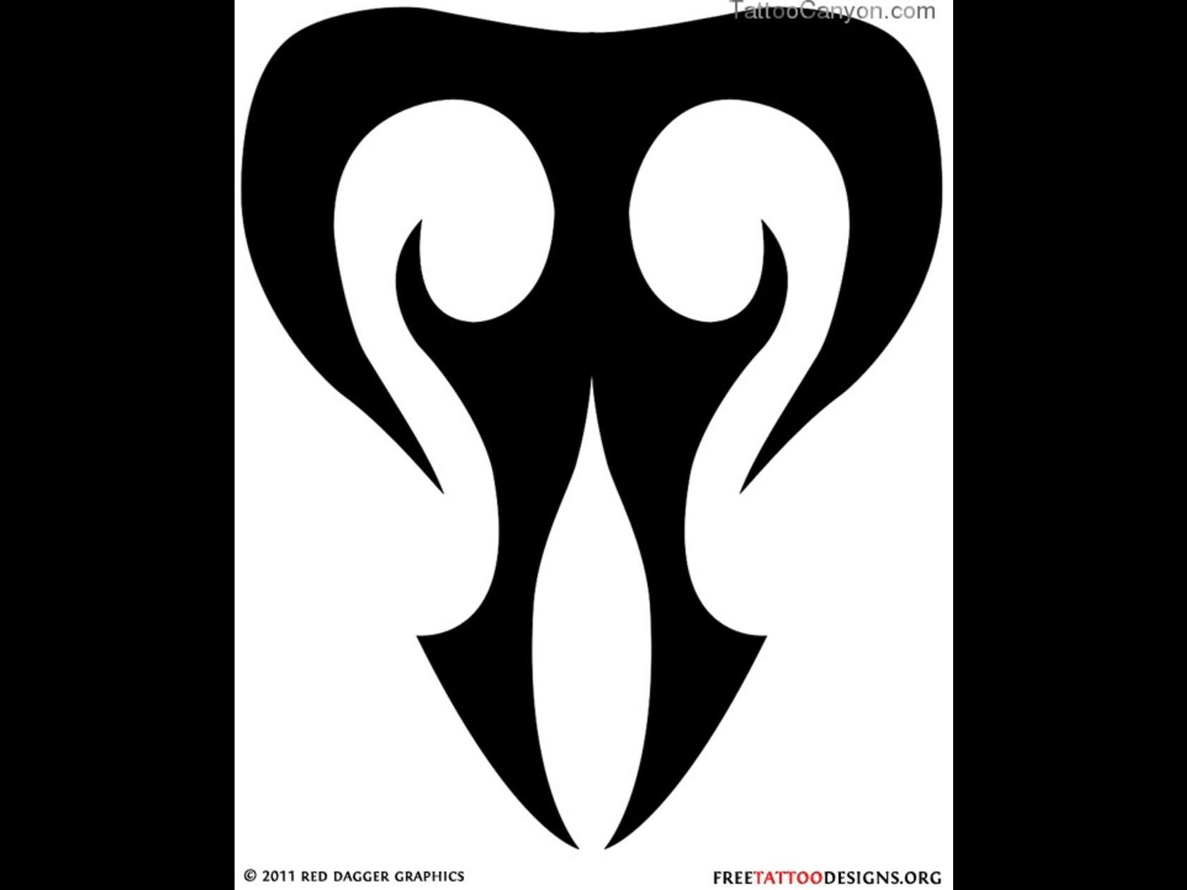 Taurus Zodiac Sign Tattoo Tribal Taurus Tattoo Designs Zodiac