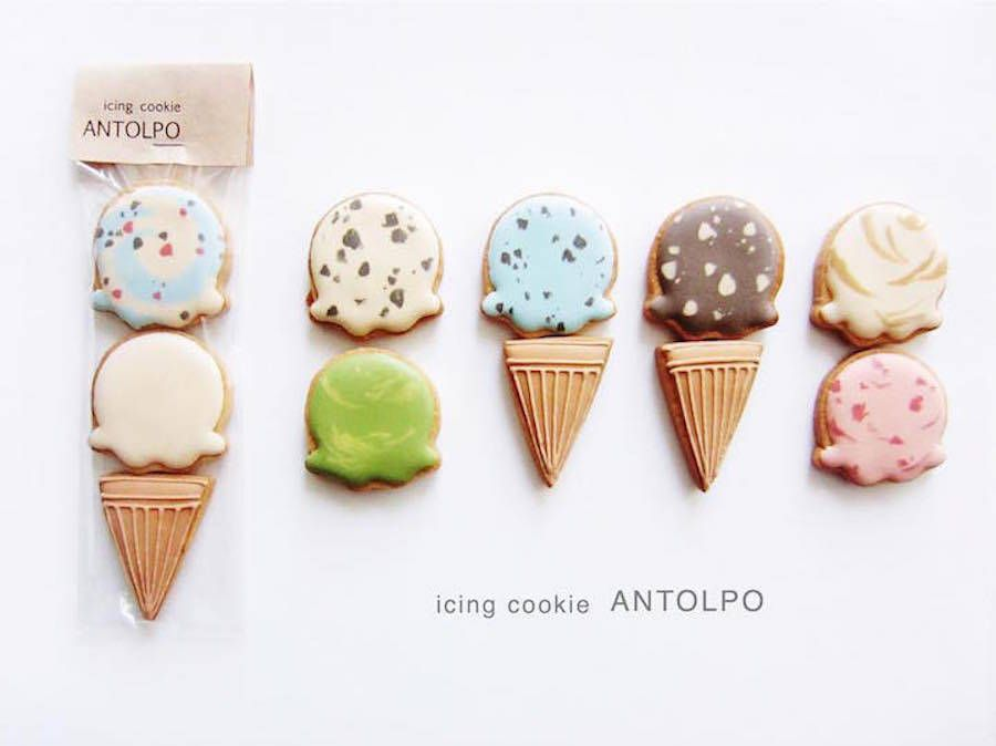 Japanese Iced Sugar Cookies by Antolpo – Fubiz Media