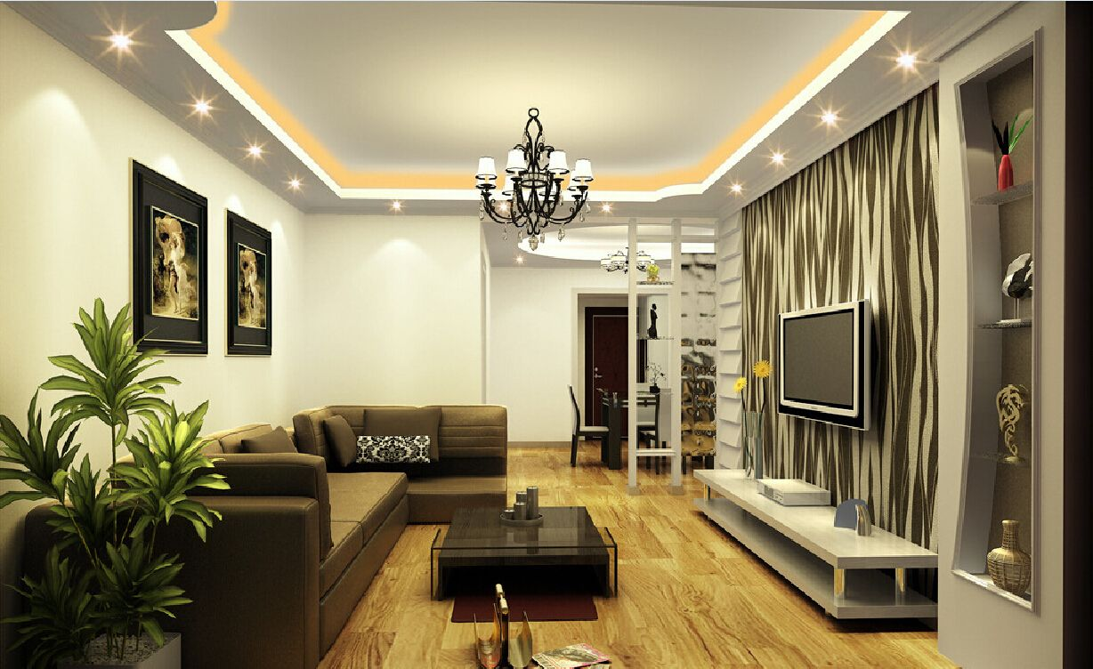 lighting living room. Lighting Ideas For Living Room Walls: Stylish Salon With LED Ribbons And Spots | Idea Board Pinterest Suspended Ceiling Lights, Ceilings Walls N