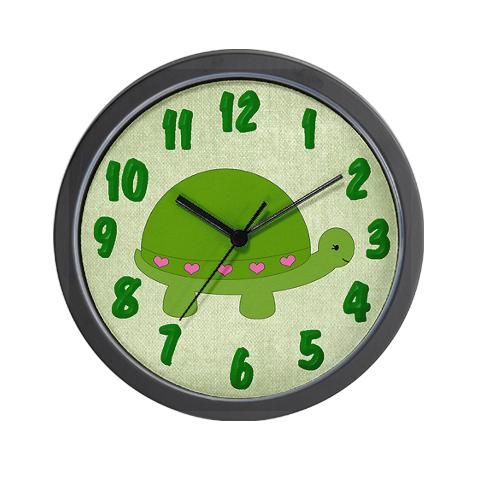 Turtle Wall Clock | Wall clocks, Clocks and Turtle