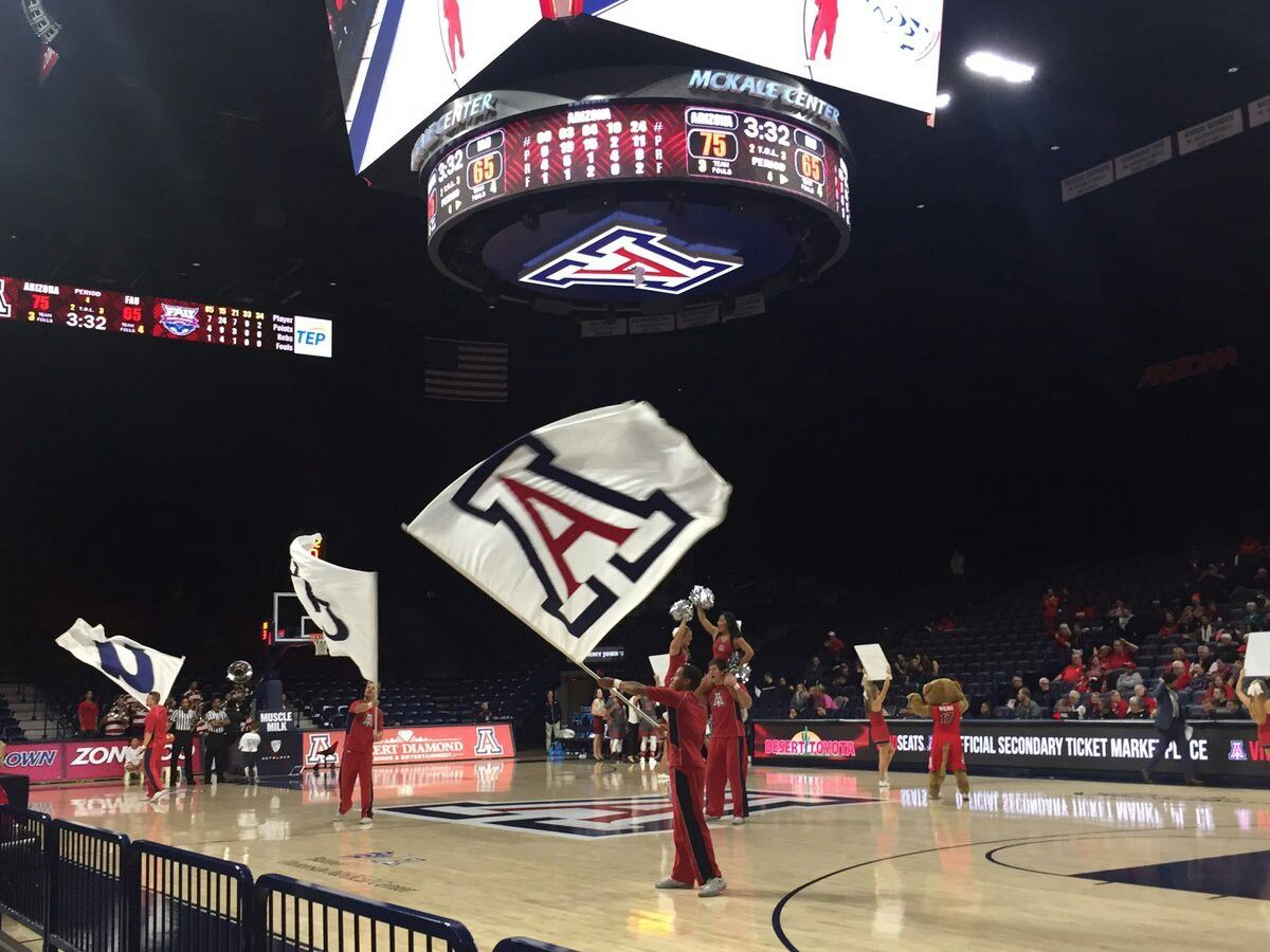 Pin by Amy Euler on Arizona Basketball court, Arizona