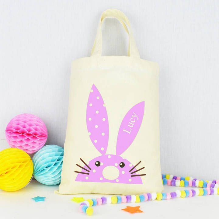 andrea fays Personalised Easter Egg Hunt Party Bag