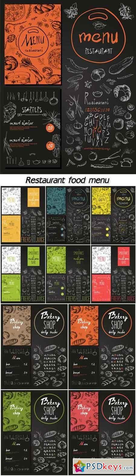 Page 17 Menu Inspiration Food Menu Design Restaurant Menu Design