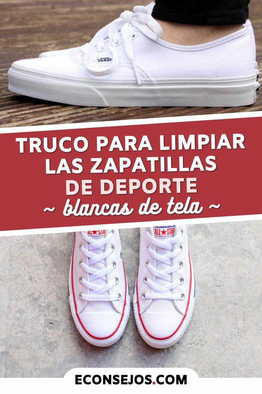 Cómo Limpiar Las Zapatillas De Deporte Blancas De Tela Sin Que Queden Amarillas Ordenador De Zapatos Zapatillas De Deporte Blancas Trucos Para Lavar La Ropa