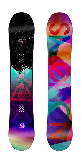 21f05ae5f08 Salomon Wonder Snowboard - Women s Snowboards - Winter 2015 2016 - Christy  Sports