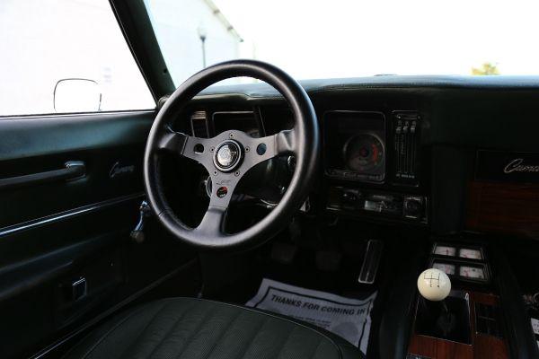 1969 Chevrolet Camaro SS Interior