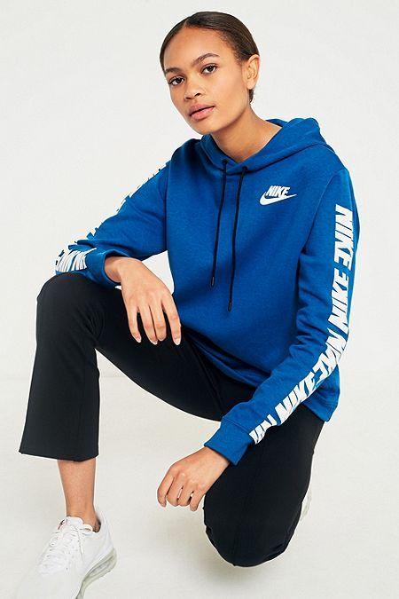 723a523d2d3f Nike Sportswear - Sweat à capuche bleu Advance 15