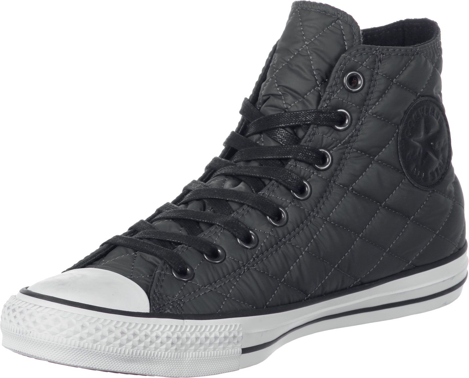 Converse All Star Quitted Nylon -Thunder Grey #Converse #QuittedShoes  #This_Color