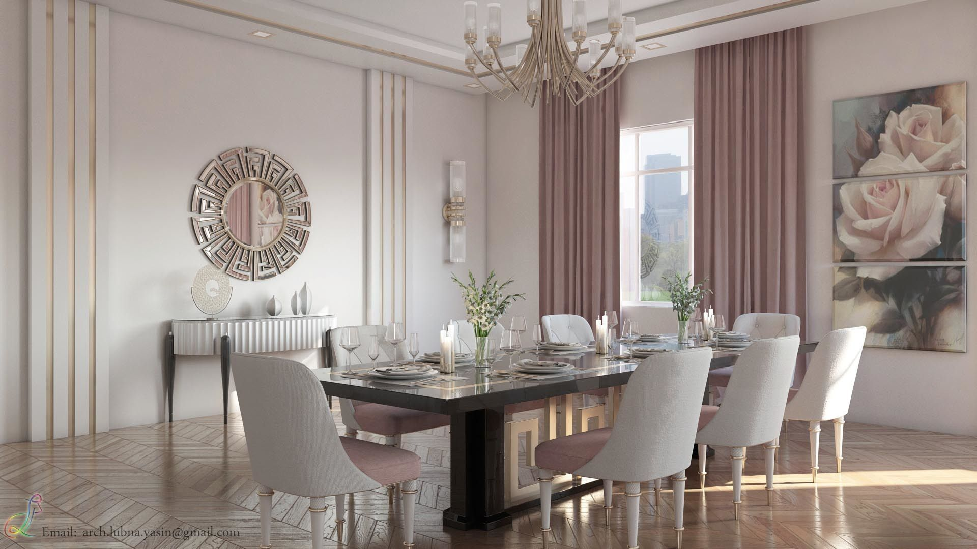 Lubna Furniture. Lubna Furniture. Modern Living Room In Dubai By Yasin |  Architecture 3d