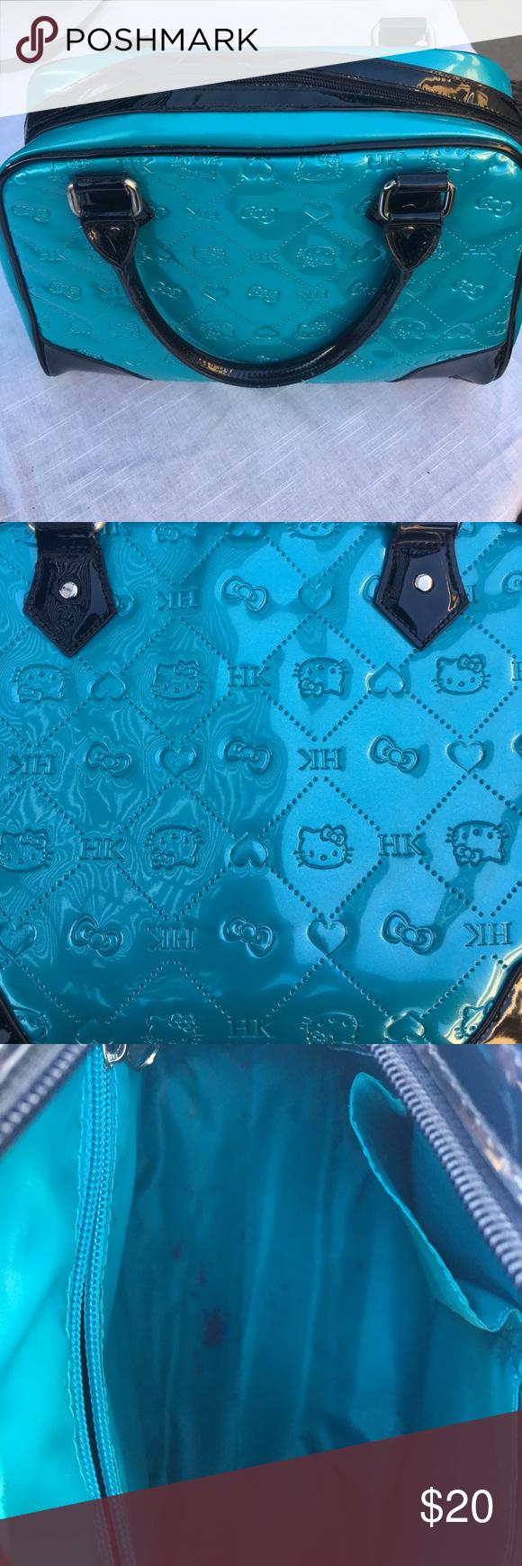 Hello Kitty turquoise purse Hello Kitty turquoise purse Hello Kitty Bags Totes