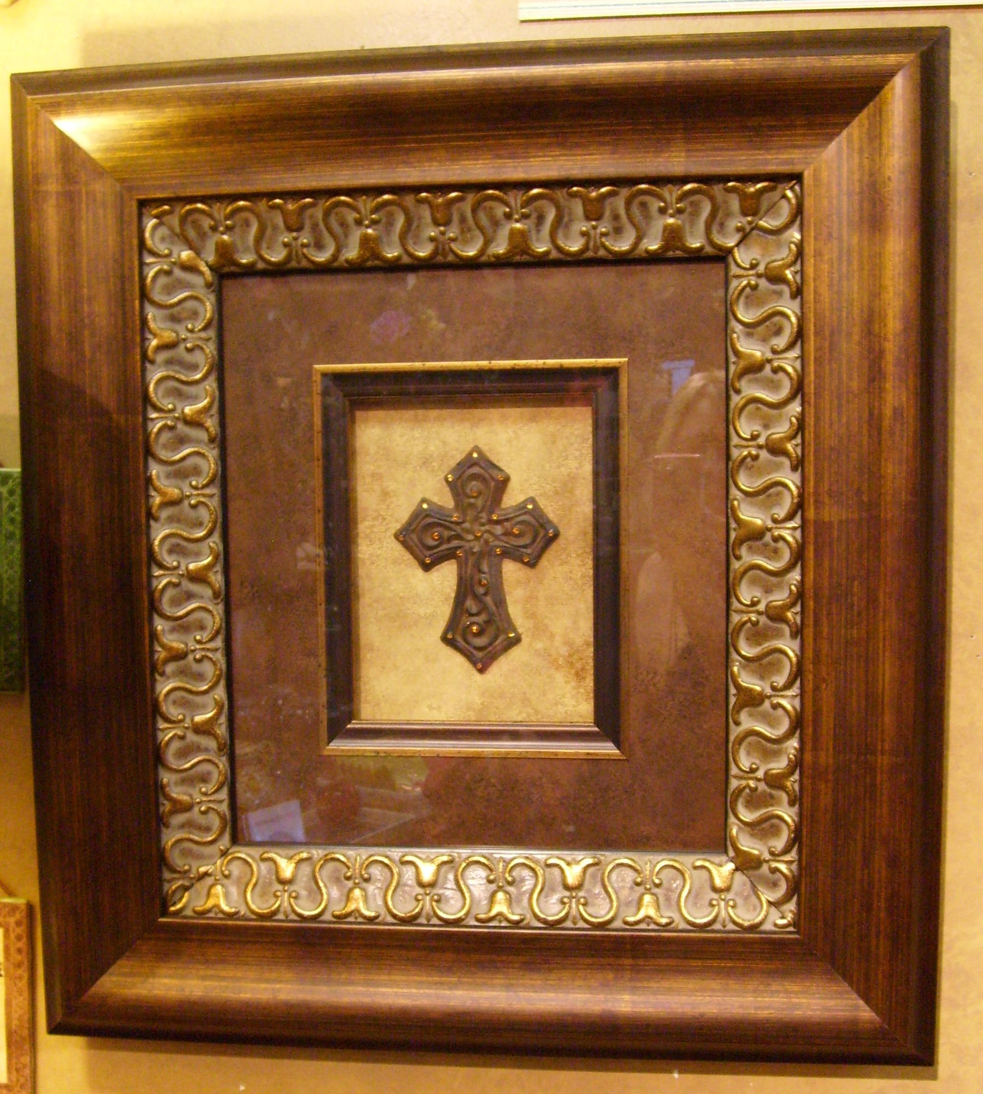 Check out this gorgeous wall art iron ornate cross with swarovski check out this gorgeous wall art iron ornate cross with swarovski crystals elegantly shadow jeuxipadfo Images