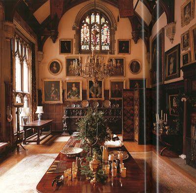 English Manor Decor