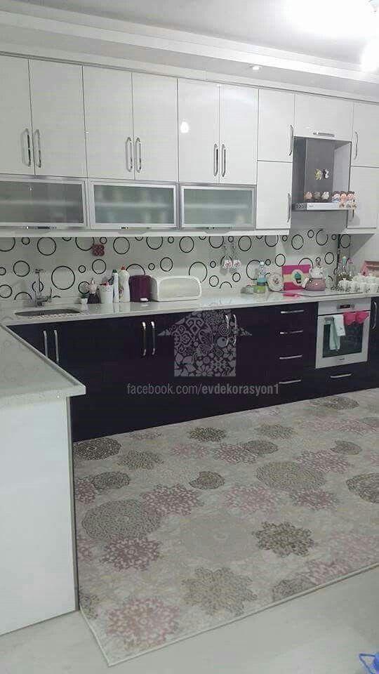 Pin By Ayşe Kulahli On Mutfak In 2019 Kitchen Cabinets