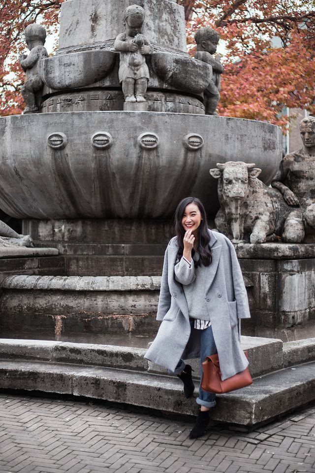 3 WAYS TO STYLE YOUR GREY COAT