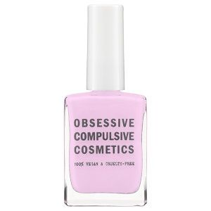 Obsessive Compulsive Cosmetics Nail Lacquer in Vapid - palest lavender #sephora