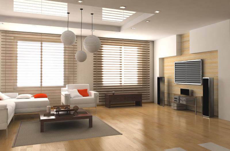 Sala contemporânea. Ambiente bonito, simples e prático