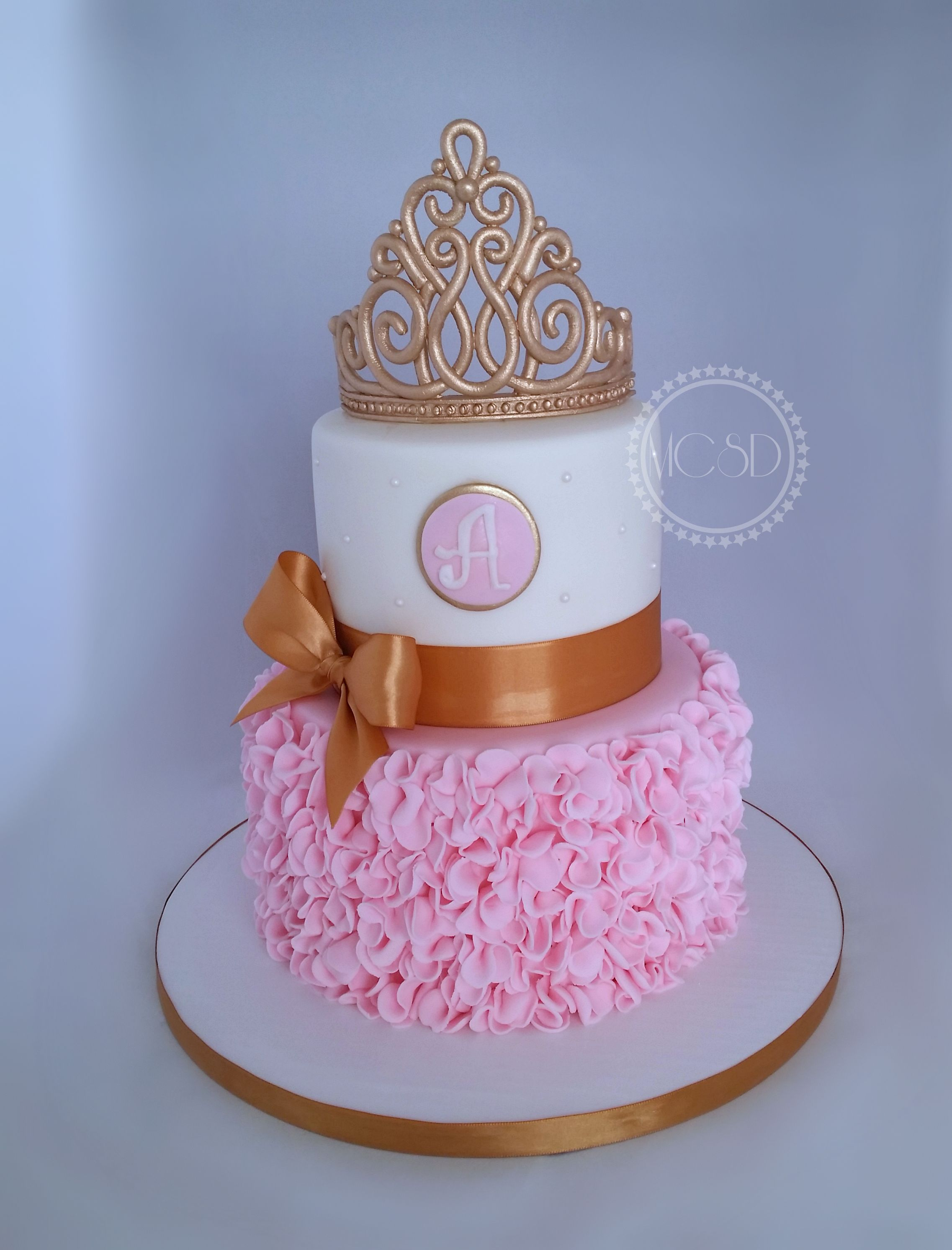 Princess Baby Shower Cake My Cakes 2017 Pinterest