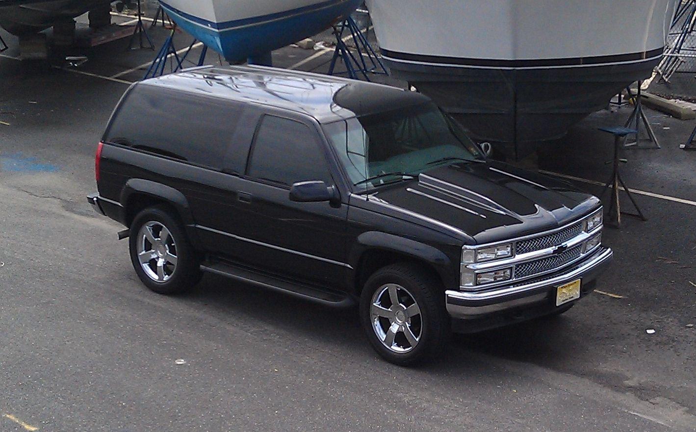 My 98 2 Door Tahoe Chevy Tahoe 2 Door Tahoe Chevrolet Tahoe