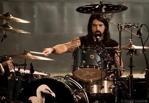 La Vida Puede Ser Maravillosa Bateristas Dave Grohl Foo Fighters