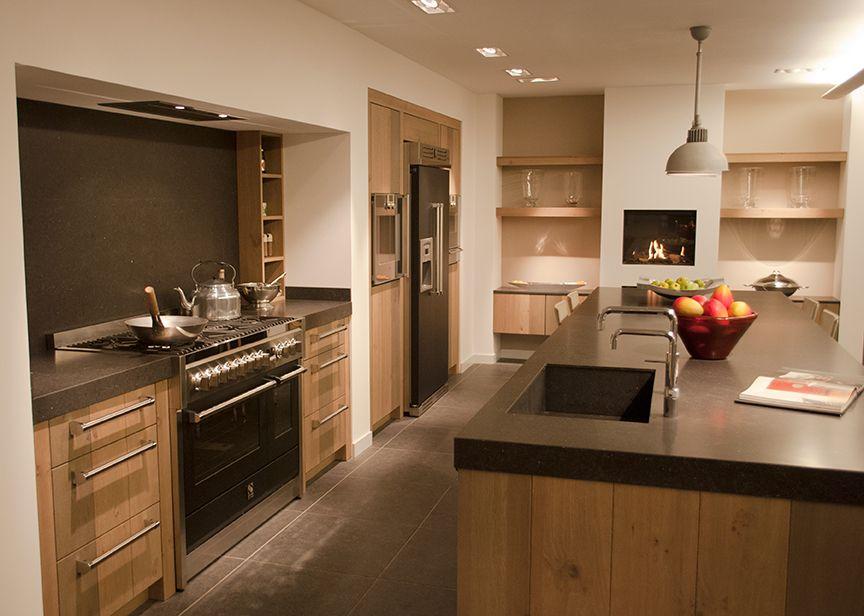 Trend van dit moment de landelijke keuken keuken pinterest room ideas kitchens and room - Deco open keuken ...