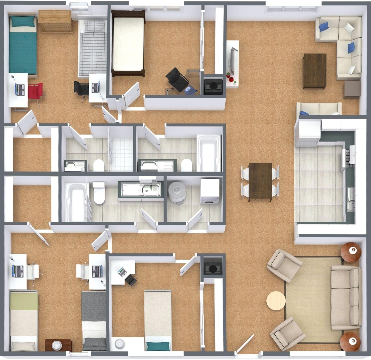 Floor Plans Sycamore Lane Apartments Floor plans