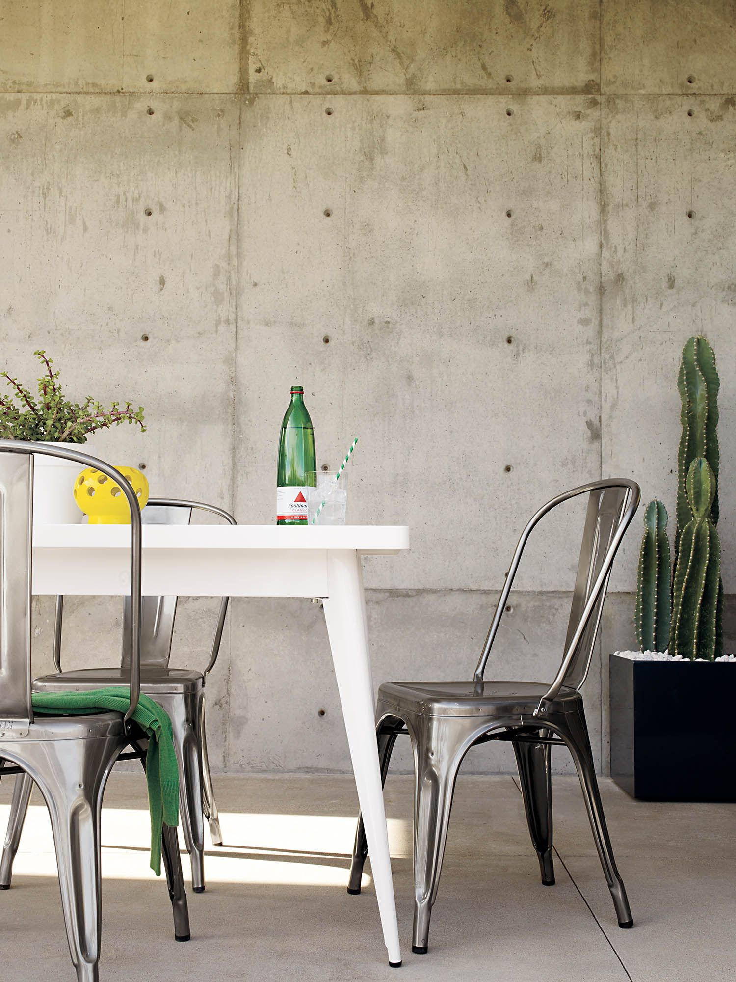 From Battleships To Bistros To Backyards, See The Authentic Tolix Marais  Tables And Chairs.
