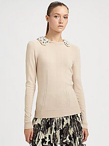 Milly - Embellished Sweater