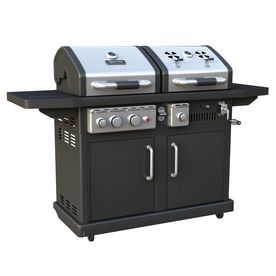 Dyna Glo 1 Burner Liquid Propane Gas And Charcoal Grill