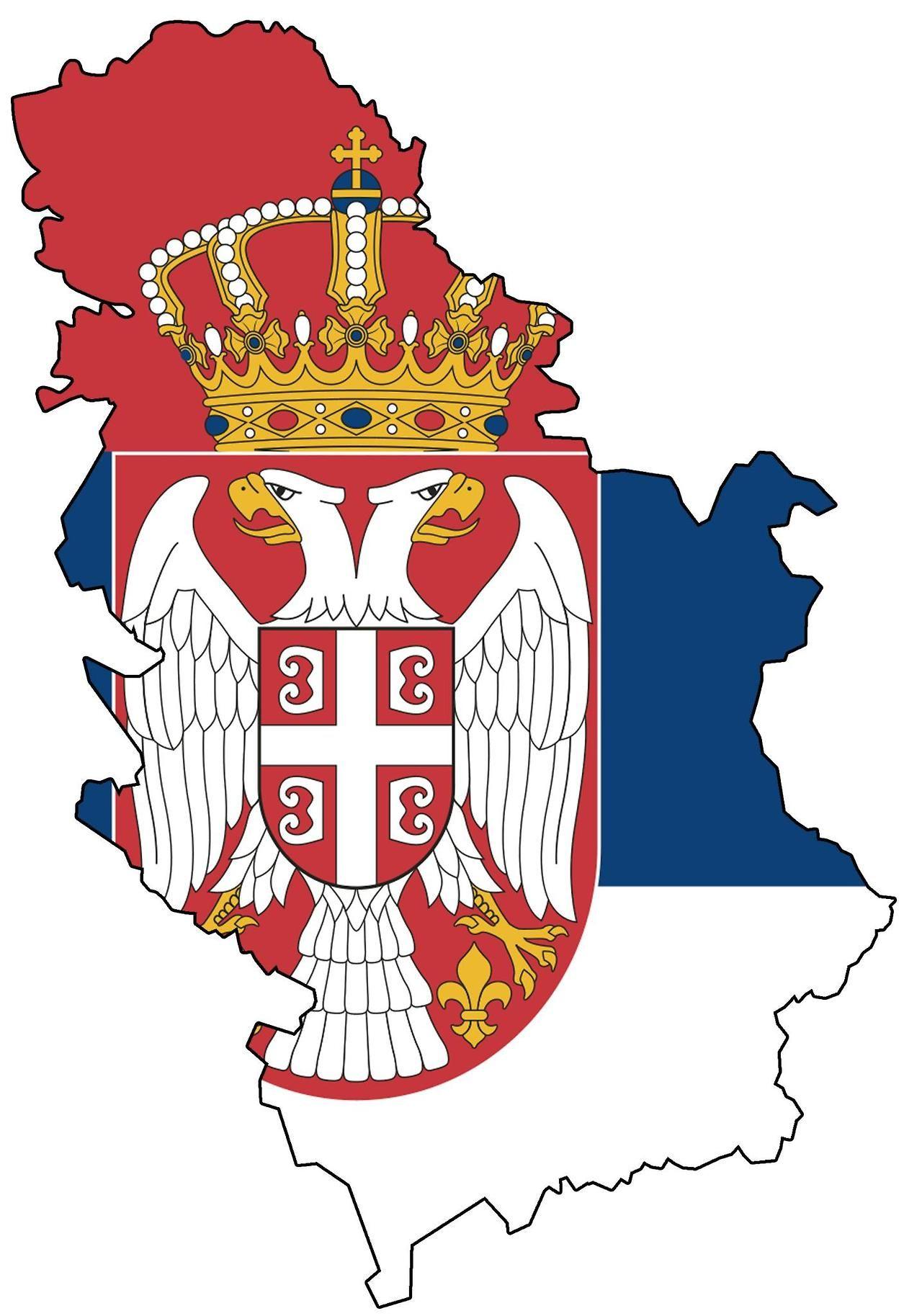 Serbia European Flags Serbia Belgrade Serbia
