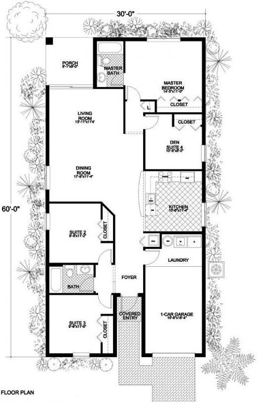 outstanding houses plan for small house. Outstanding Small House One Floor Plans Contemporary  Best