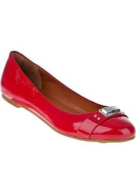 Marc by Marc Jacobs - Ballet Flat Coral Patent