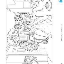 Barbie A Fashion Fairytale Coloring Pages 16 Online Printable For Girls Coloring Pages Barbie Coloring Pages Barbie Coloring