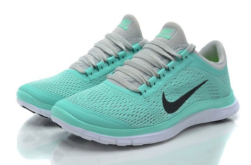 5e4e11368af5e Nike Free Run 3.0 V5 Tiff Blue Green Mint Womens Shoes Size US 8 NIB  Nike   RunningCrossTraining