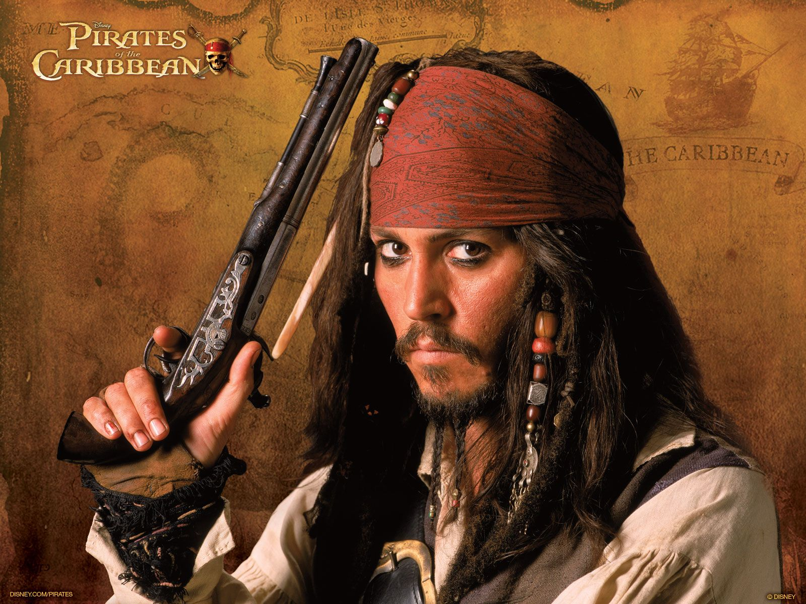 johnny depp as captain jack sparrow computer wallpapers, desktop