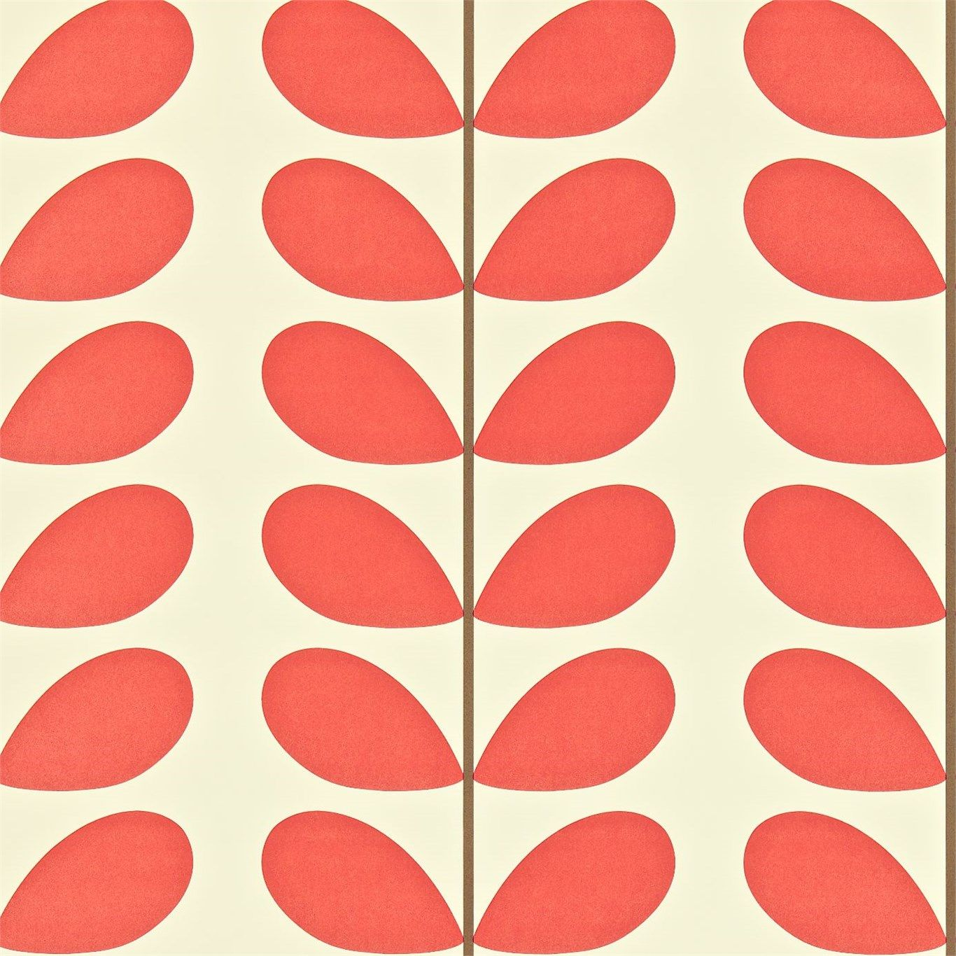 Orla Kiely Classic Stem Wallpaper Harlequin wallpaper