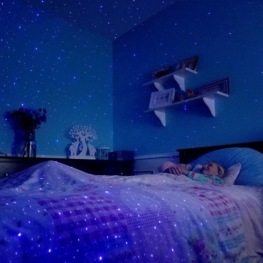Star Field Night Light Wow Star Bedroom Sleeping Under The Stars Constellation Room