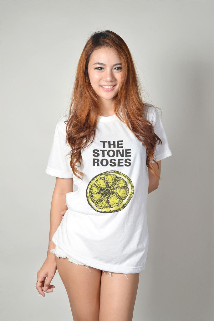 The Stone Roses Band T Shirt Hipster Grunge Trendy Womens Clothing ...