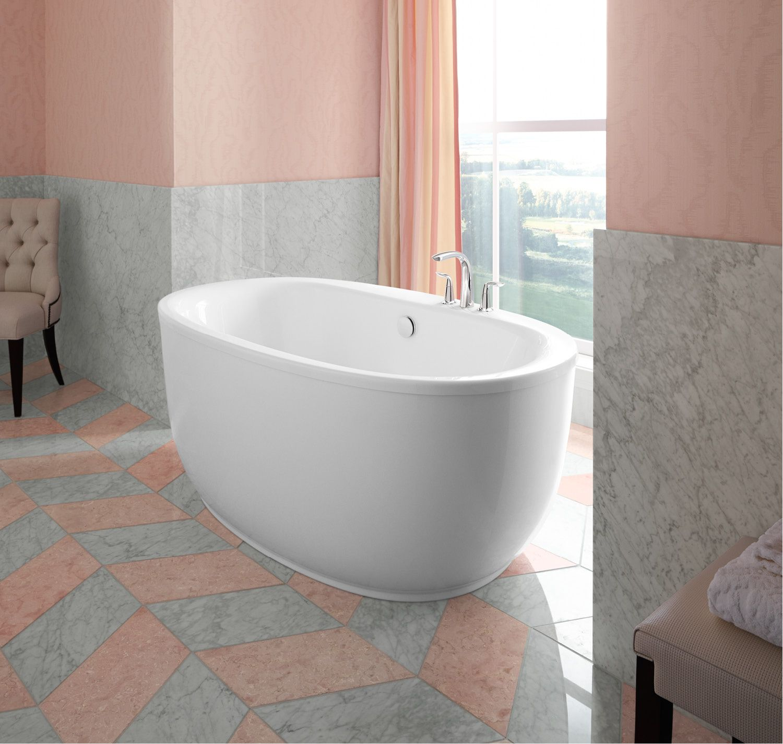 Petal Pink Bathroom