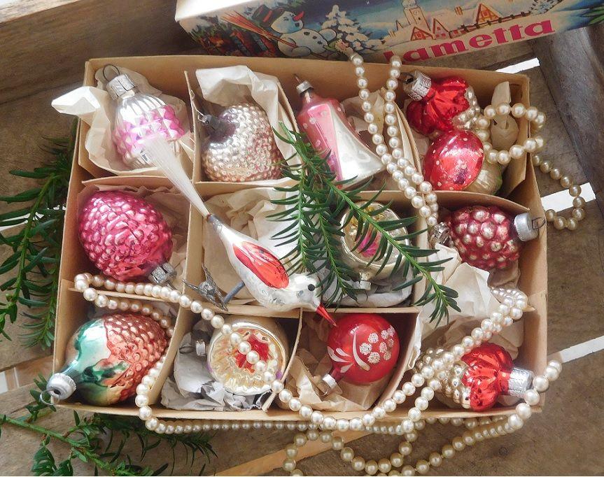 Christbaumkugeln Lauscha.Alter Weihnachtsschmuck Antike Weihnachtskugeln
