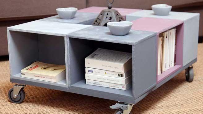 un s jour f minin et romantique 20 11 2011 salons bricolage and tables. Black Bedroom Furniture Sets. Home Design Ideas