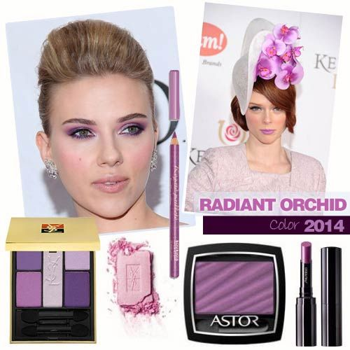 Maquillaje Radiant Orchid 2014 Bodybell.