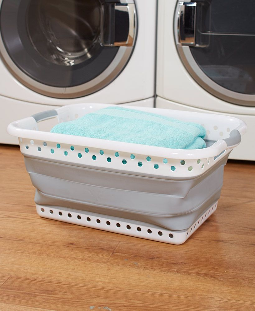 Collapsible Laundry Baskets With Images Collapsible Laundry