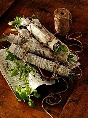 all year by learning how to dry herbs Find various methods and helpful tips for how to dry fresh herbs and how to make a fragrant fire starter after drying fresh herbsEnj...